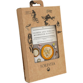 Forestia Heater Outdoor Meal Vegetarian 350g, Salmon and Mushroom Risotto